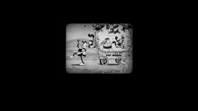 Screenshots from the 2013 Disney cartoon Get a Horse!