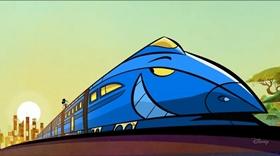 Screenshots from the 2013 Disney Television Animation cartoon Tokyo Go