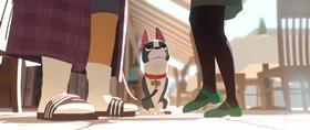 Screenshots from the 2014 Disney cartoon Feast