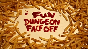Screenshots from the 2014 Cartoon Network Studios cartoon Fun Dungeon Face Off