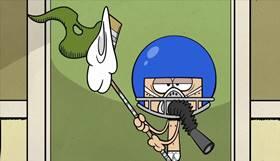 Screenshots from the 2014 Nickelodeon cartoon The Loud House