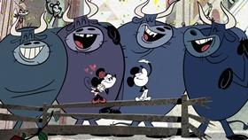 Screenshots from the 2015 Disney Television Animation cartoon Al Rojo Vivo