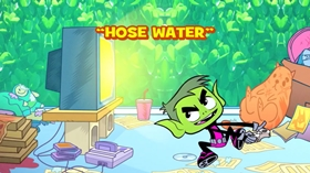 Screenshots from the 2015 Warner Brothers Television cartoon Hose Water