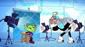 Screenshots from the 2015 Warner Brothers Television cartoon Yearbook Madness