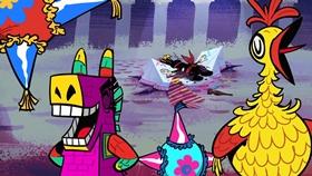 Screenshots from the 2015 Disney Television Animation cartoon Feliz Cumpleanos!
