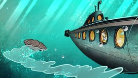 Screenshots from the 2015 Disney Television Animation cartoon Wonders of the Deep