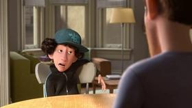 Screenshots from the 2015 Pixar cartoon Riley