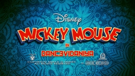 Screenshots from the 2016 Disney Television Animation cartoon Dancevidaniya