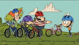 Screenshots from the 2016 Nickelodeon cartoon Hand-Me-Downer