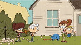 Screenshots from the 2016 Nickelodeon cartoon Changing the Baby