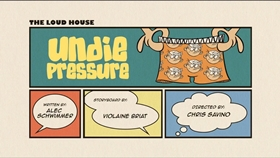 Screenshots from the 2016 Nickelodeon cartoon Undie Pressure