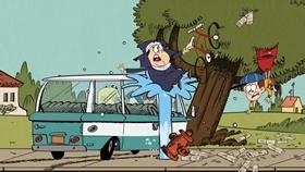 Screenshots from the 2016 Nickelodeon cartoon Driving Miss Hazy