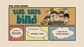 Screenshots from the 2016 Nickelodeon cartoon Ties That Bind