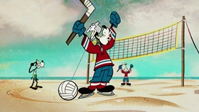 Screenshots from the 2016 Disney Television Animation cartoon Good Sports