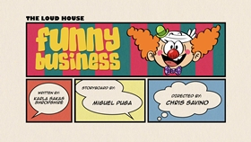 Screenshots from the 2016 Nickelodeon cartoon Funny Business