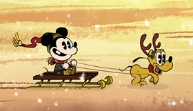 Screenshots from the 2016 Disney Television Animation cartoon Duck the Halls