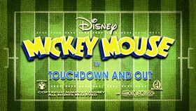 Screenshots from the 2017 Disney Television Animation cartoon Touchdown and Out