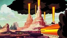 Screenshots from the 2017 Disney Television Animation cartoon Nature