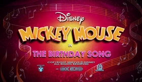 Screenshots from the 2017 Disney Television Animation cartoon The Birthday Song