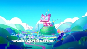 Screenshots from the 2017 Warner Brothers Television cartoon Sparkle Matter Matters