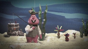 Screenshots from the 2017 Sony Pictures Animation cartoon Lobster Claus Is Coming to Town (Part 1)