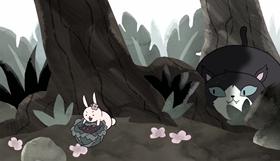 Screenshots from the 2017 Frederator Studios cartoon The Summoning