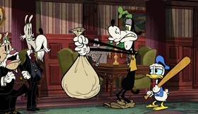 Screenshots from the 2018 Disney Television Animation cartoon The Fancy Gentleman