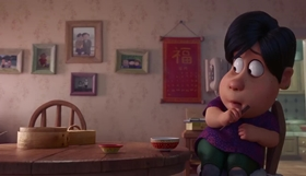Screenshots from the 2018 Pixar cartoon Bao