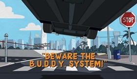 Screenshots from the 2018 Disney Television Animation cartoon Beware the B.U.D.D.Y. System!
