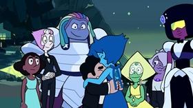 Screenshots from the 2018 Cartoon Network Studios cartoon Reunited