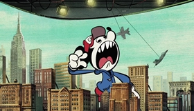 Screenshots from the 2018 Disney Television Animation cartoon Roll