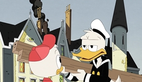 Screenshots from the 2018 Disney Television Animation cartoon The Last Crash of the Sunchaser!