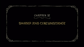 Screenshots from the 2018 Rough Draft Studios cartoon Swamp and Circumstance