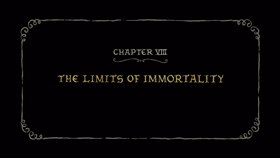 Screenshots from the 2018 Rough Draft Studios cartoon The Limits of Immortality