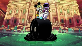 Screenshots from the 2018 Disney Television Animation cartoon Amore Motore
