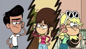 Screenshots from the 2018 Nickelodeon cartoon Everybody Loves Leni