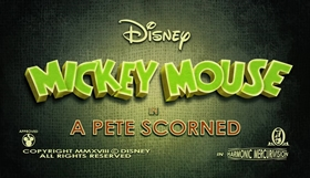 Screenshots from the 2018 Disney Television Animation cartoon A Pete Scorned