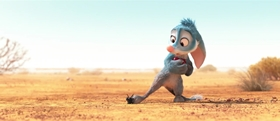 Screenshots from the 2018 DreamWorks Animation cartoon Bilby