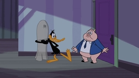 Screenshots from the 2018 Warner Brothers Television cartoon Duck Duck Ghost