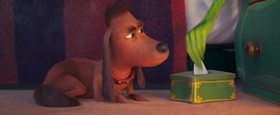 Screenshots from the 2019 Illumination Entertainment cartoon The Dog Days of Winter
