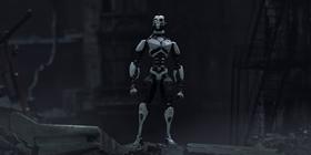 Screenshots from the 2019 Blur Studio Inc. cartoon Three Robots