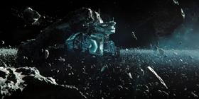 Screenshots from the 2019 Blur Studio Inc. cartoon Beyond the Aquila Rift
