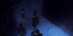 Screenshots from the 2019 Blur Studio Inc. cartoon Good Hunting