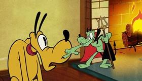 Screenshots from the 2019 Disney Television Animation cartoon Easy Street