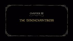 Screenshots from the 2019 Rough Draft Studios cartoon The Disenchantress