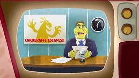 Screenshots from the 2019 Warner Brothers cartoon Here
