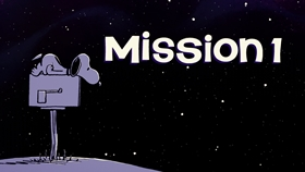 Screenshots from the 2019 DHX Media Ltd. cartoon Mission 1: The Application