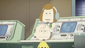 Screenshots from the 2019 DHX Media Ltd. cartoon Mission 4: Welcome to the ISS