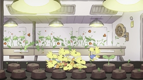 Screenshots from the 2019 DHX Media Ltd. cartoon Mission 5: I Never Promised You a Space Garden