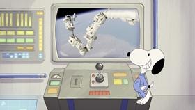 Screenshots from the 2019 DHX Media Ltd. cartoon Mission 6: Space Sleepwalking